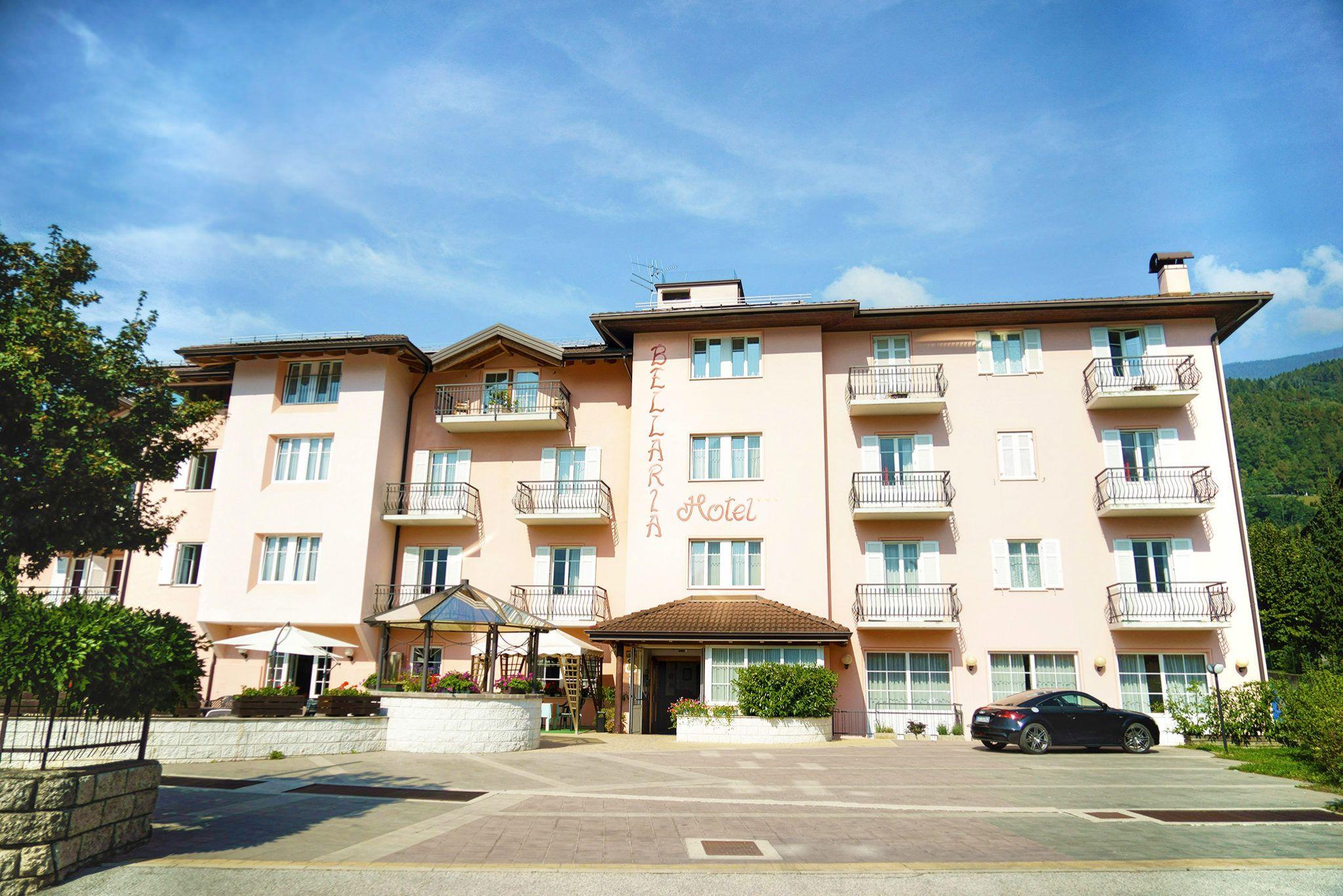 Benvenuti all'Hotel Bellaria a Levico Terme